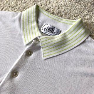 OLD HERMÈS White Polo Shirt イタリア製