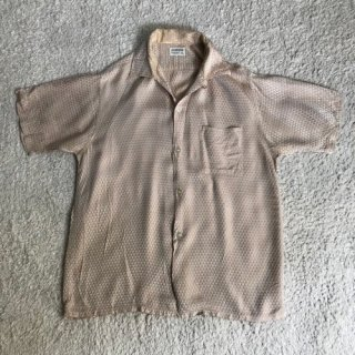50年代 CLUBMAN Silk Shirt
