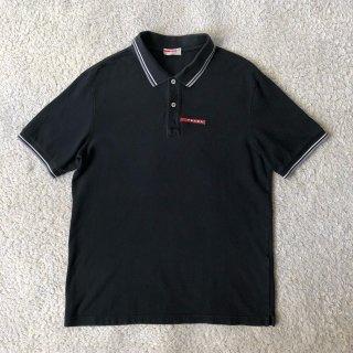 00's PRADA SPORT Black Polo Shirt