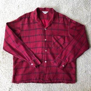 "1960's Vintage L/S Cotton Shirt""DistinctiveSportswear"""