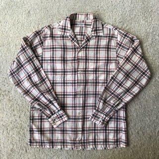"""1960's Vintage L/S Cotton Shirt""""Penney's"""""""