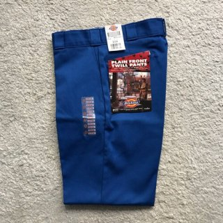 90年代 Dickies Twill Pants DEAD STOCK Syan Blue