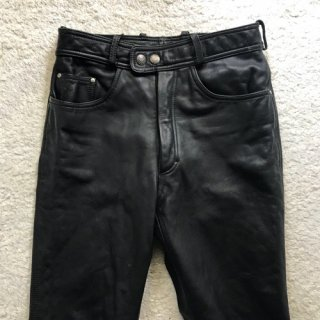 90年代 HARLEY DAVHDSON 5poket Leather Pants