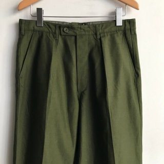 80年代 Sweden Military Intuck Trousers W34