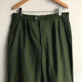 80年代 Sweden Military Intuck Trousers W35
