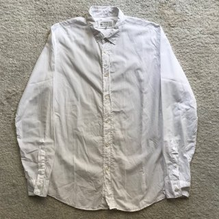 2000年代 Martin Margiela ➉ Cotton White Shirt 50