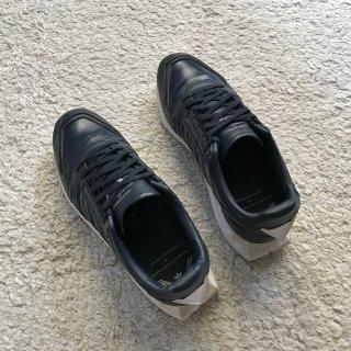 adidas ORIGINALS ホワイトマウンテニアリンク スニーカー ネイビー 26㎝