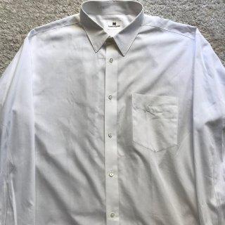 90年代  ISSEY MIYAKE コットン ホワイト シャツ 42/84