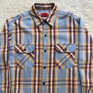 Levi's RED TAB Cotton Nel L/S Shirt MEDIUM 好配色