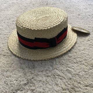 SCALA HAND MADE BOATER HAT LARGE
