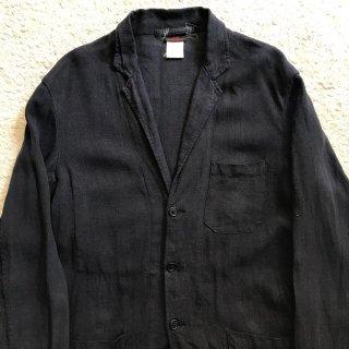 VETRA リネン ブラック ジャケット MADE IN FRANCE