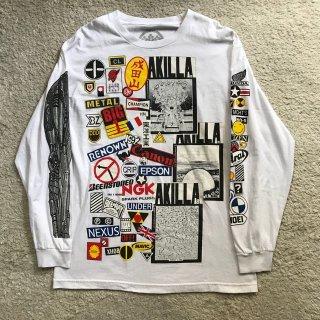 MOOKEE × 1992 AKILLA L/S Tシャツ L MADE IN USA