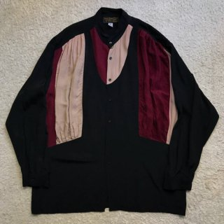 JAMES LORD Rayon Shirt MADE IN U.S.A.