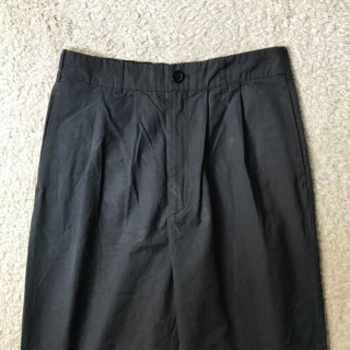 KNOTT Cotton/Poly Nylon 2tuck Pants Black W31