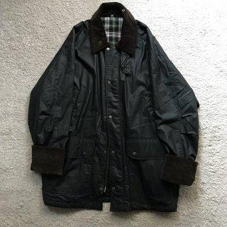 90年代 ドイツ ワックスコットン ジャケットダークネイビー