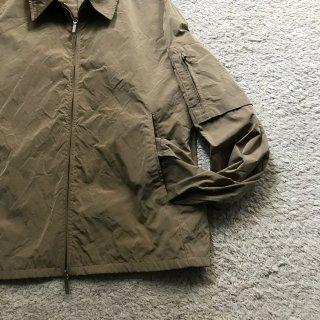 JIL SANDER POLYESTER flight shirt jacket 46