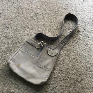 90's miu miu Leather Shoulder Denim Bag MADE IN ITALY