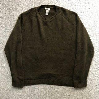 90's L.L.Bean Wool Sweater LG-REG Olive