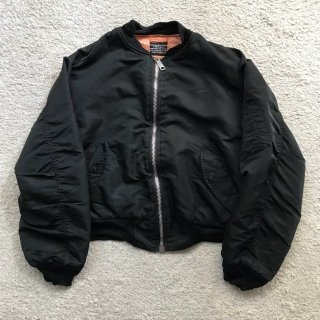 90's Schott MA-1 BLACK Jacket