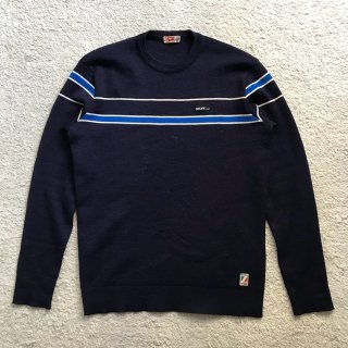 70's SILVY PURE WOOL Knit MADE IN ITALY