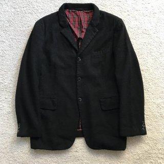 COMME des GARCONS HOMME PLUS Wool Jacket M BLACK