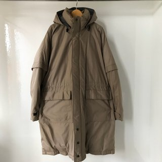 80's MIGHTY-MAC GOOSE DOWN Long Coat MADE IN USA