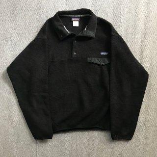 Patagonia Fleece Snap-T BLACK M