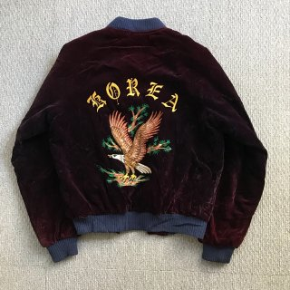 80's Souvenir Jacket 紫別珍 コリジャン ジャケット L