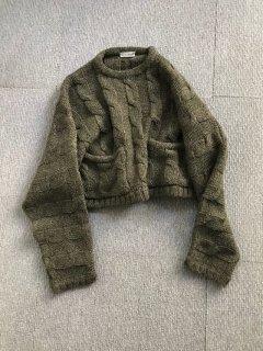 GIAN MARCO VENTURI Short pocket Knit MADE IN ITALY