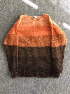 CARELLA Mohair Knit グラデーションカラー MADE IN ITALY