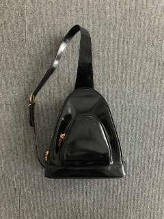 GUCCI エナメル Body Bag MADE IN ITALY