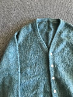 60's UNKNOWN Mohair Cardigan