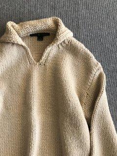 RL RALPH LAUREN Wool Knit ベージュ