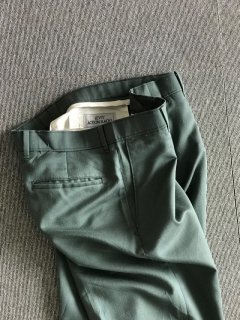 70's LEVI'S ACTION SLACKS Pants Green W34 MADE IN USA
