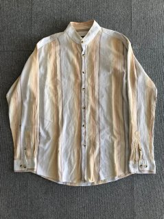 90's ATLAS FOR MEN L Stand-up collar shirt