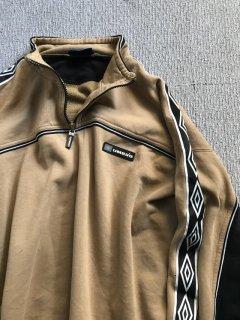 UMBRO Half-zip Sweat Shirt XL ベージュ