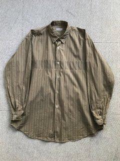 95's COMME des GARÇONS Cotton Shirt モカ