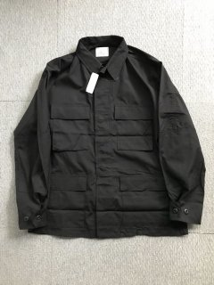 97's US ARMY BDU MEDIUM-REGULAR Jacket BLACK デットストック