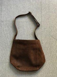 COACH Leather Bag 茶 MADE IN U.S.A.