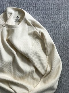 INDERA thermal Cotton L/S T-Shirt LARGE マル胴