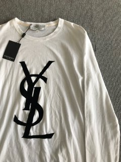 YVE SAINT LAURENT L/S T-Shirt M MADE IN ITALY