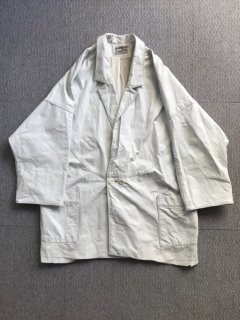 80's NORTHSIDE White Leather Dolman sleeve MADE IN USA