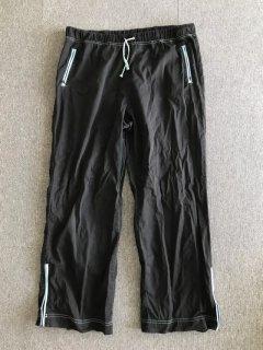UNKNOWN Cotton easy Pants LARGE  BLACK