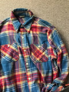 80's ELY Haveay Flannel Shirt 好配色