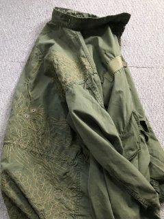 70's U.S.Military M-65 Fishtail Parka カスタム