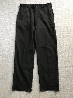 60's U.S.Military Chino Trousers ガーメントダイブラック W33