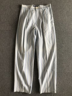 Polo by Ralph Lauren In-tuck Cotton Stripe Trousers