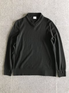 C.P.CMPANY Wool V-neck Knit MADE IN ITALY