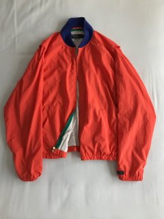 90's Polo by Ralph Lauren Nylon Stadium Jacket L orange