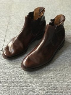 Loake Leather side Gore boots 7 1/2 MADE IN ENGLAND